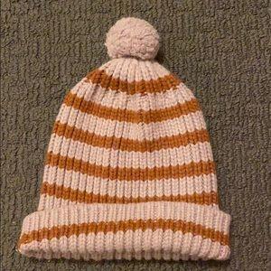 Madewell striped beanie